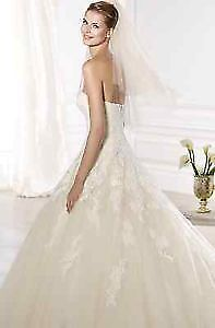 Wedding Gown TULLE AND LACE