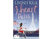 I Heart Paris by Lindsey Kelk (Paperback, 2010)(WILL POST FOR EXTRA CHARGE)