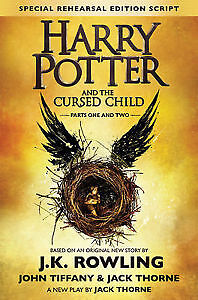 Harry Potter and the Cursed Child  Hardcover Kitchener / Waterloo Kitchener Area image 1