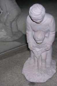 Earthwarmers FIRST LESSON Golf Sculpture C.G ALARCON