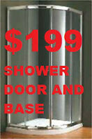 SHOWER ENCLOSURE.SHOWER DOOR.BATHROOM VANITY $169