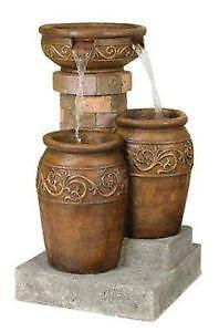 Outdoor Water Fountain Lights