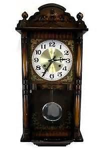 WALL CLOCK......westminister ....pendulum...excellant condition!