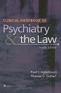 Clinical Handbook of Psychiatry and the Law London Ontario image 1