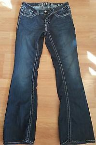 HYDRAULIC JEANS SIZE 9 USED ONLY 1 TIME $20