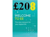 EE £20 Sim pack for only £10 ! ! !