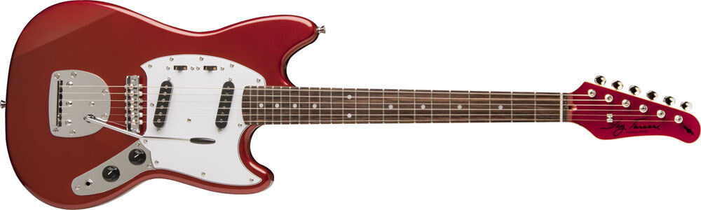 Купить Jay Turser MG2-CAR - New! Jay Turser Mustang Style Vintage Series Electric Guitar - Candy Apple Red