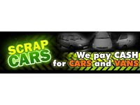 Scrap cars wanted non runners salvage damaged spares repairs scrap cars bought