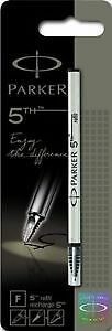 PARKER 5th refill for PARKER 5th Technology Ink Pens, Fine point