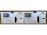 Def Leppard Royal Albert Hall 25/03/18 - 2 standing tickets for sale
