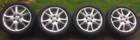 4 x Porsche Cayenne Alloys with Pirrelli Scorpian Zero Tyres