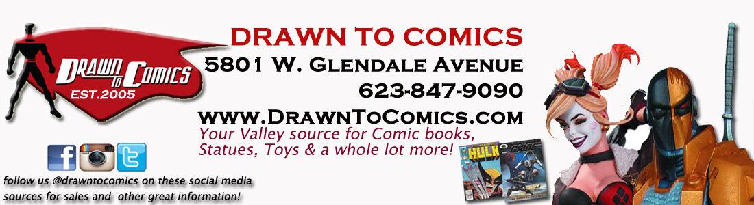 DrawnToComics Comic Books and More