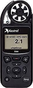 New Kestrel 5000 Environmental Meter -Black w/ LiNK (Bluetooth)