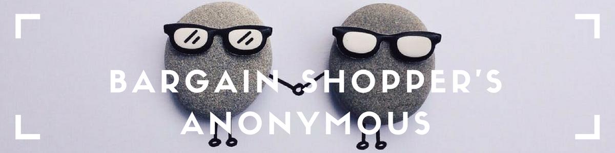 Bargain Shopper's Anonymous