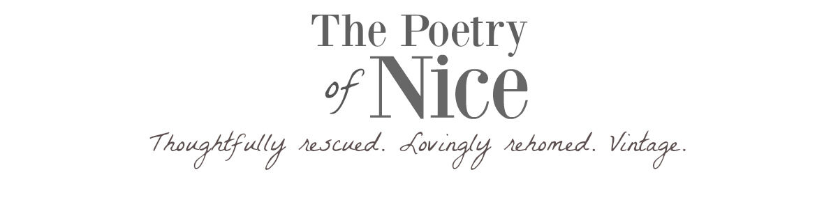 The Poetry of Nice