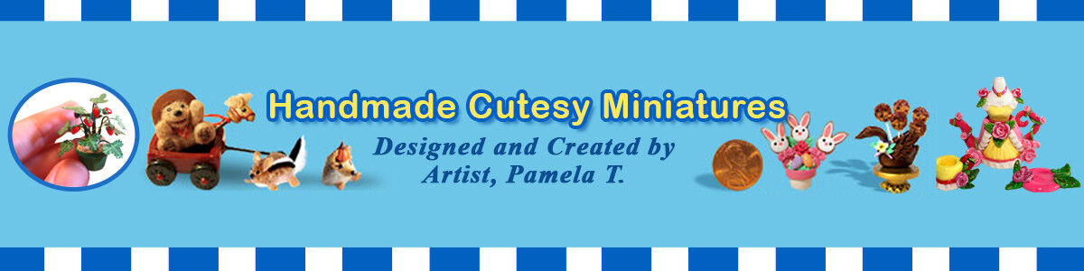 Handmade Cutesy Miniatures
