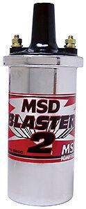 MSD8200  * MSD Ignition Blaster 2 Hi-Performance Chrome Coil