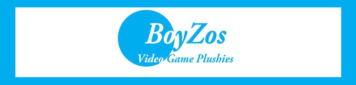 BoyZos Video Game Plushies