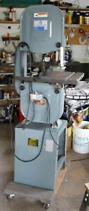 LARGE TABLE SAW TOOLEX 10 IN -and 14 IN BAND SAW London Ontario image 1