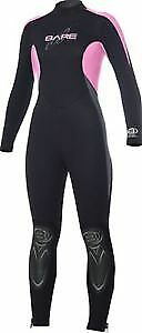 BARE FEMALE FULL LENGTH 3MM SCUBA SUIT
