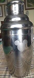Stainless Disney Mickey Cocktail shaker.