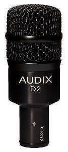 Audix Drum Microphones - 2x Audix D2, 1x Audix D4