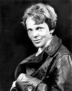 Amelia Earhart  #1 Photo - 8X10