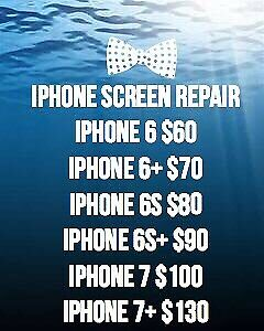 Cheapest iPhone repair, battery replacement, etc