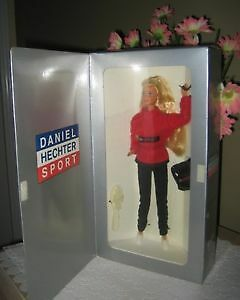 New Blonde BARBIE DOLL, LE Mattel 1997 DANIEL HECHTER Paris