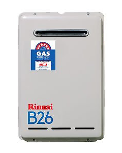 RINNAI B26 50D NG  HOT WATER UNIT $870.00 SUPPLIED AND DELIVERED