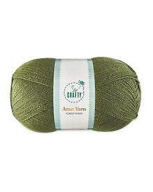 Aran Yarn - Forest Green