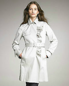 BRAND NEW Moncler ruffle trench coat