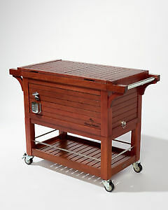 Tommy Bahama Rolling Mahogany Party Cooler