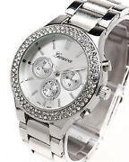 Womens Silver Watch