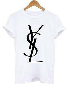 Ysl shirt ebay for Who sells ysl t shirts