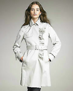 MONCLER Ruffle Trench - BRAND NEW