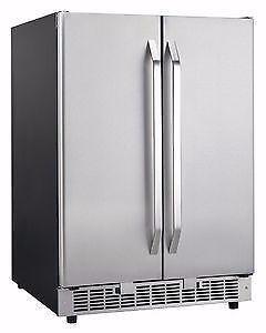 Danby 2 DOOR WINE+BEVERAGE COOLER+ICE MAKER 3 IN1 $599** NO TAX