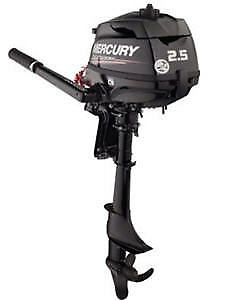 NEW Mercury Outboards , 2.5 HP OR 4 HP - 15 in. Shaft
