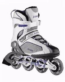 Brand New Inline Skates Unisex Professional Roller Skating Shoes