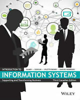 ADMS 2511 Introduction to Information System. 3rd edition
