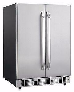 Danby 2 DOOR WINE+BEVERAGE COOLER+ICE MAKER 3 IN1 $599** NO TAX