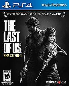 Last of us - Remastered (PS4) - Brand new in packaging