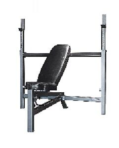 NORTHERN LIGHTS OLYMPIC INCLINE/DECLINE BENCH – Only 2 months o