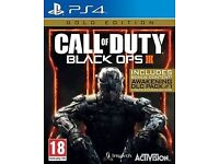 Call Of Duty Black Ops 3 Gold Edition PlayStation 4 *Includes DLC Pack 1*