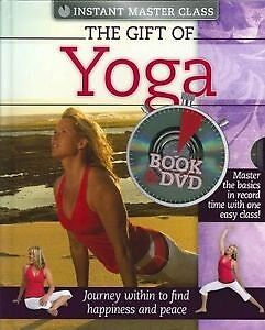 THE GIFT OF YOGA BY GENA KENNY BOOK & DVD Rowville Knox Area Preview