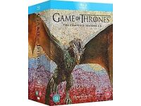 Game of Thrones season 1-6 blu-ray