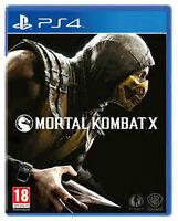 Mortal Kombat X- for PS4