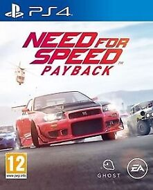 Need for Speed Payback (NFS) PS4