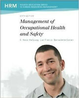 ADMS3400Management Of Occupational Health and Safety 6th Edition