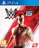 PS4 WWE 2K15 for sale
